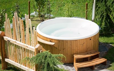 Best Ideas of Backyard Hot Tub at Low Cost