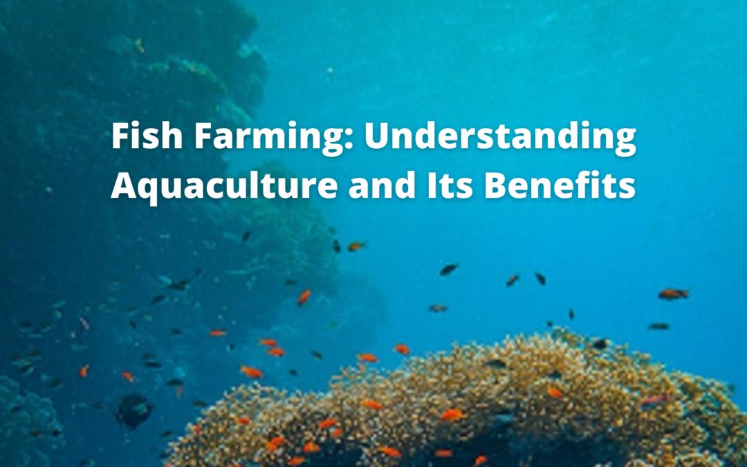 Fish Farming: Understanding Aquaculture and Its Benefits