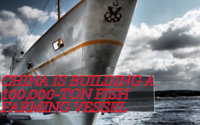 China is Building a 100,000-Ton Fish Farming Vessel